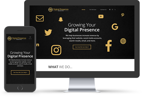 Responsive Website Design - Digital Presence Marketing