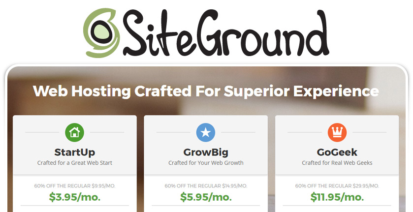 Siteground Website Hosting Packages - Digital Presence Marketing